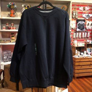 "NWT XL Navy Sweatshirt M&S  (44""-46"")"